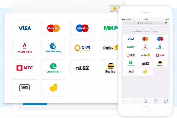 Платежный модуль Unitpay