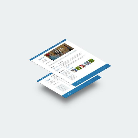 Адаптивный сайт Управляющая компания