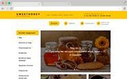 Адаптивный магазин мёда