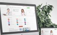Адаптивный универсальный сайт клиники