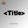 CustomTitles